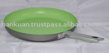 Ceramic non-stick round pan