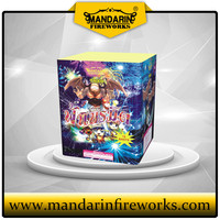 CAKE COMBINATION 1.5 INCH 16 SHOTS CAKE FIREWORKS AND CHINESE CRACKERS WHOLESALE