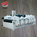 Automatic high speed wood grain wire drawing machine