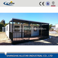 hydraulic quick assembly sandwich panel expanded container house