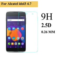 9H 0.25mm Premium tempered glass Toughened Scratch screen protector for ALCATEL One Touch Pop C7