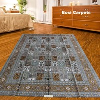 China supplier offer various patterns and size hand knotted silk stocklot carpet