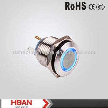 CE ROHS push button switch