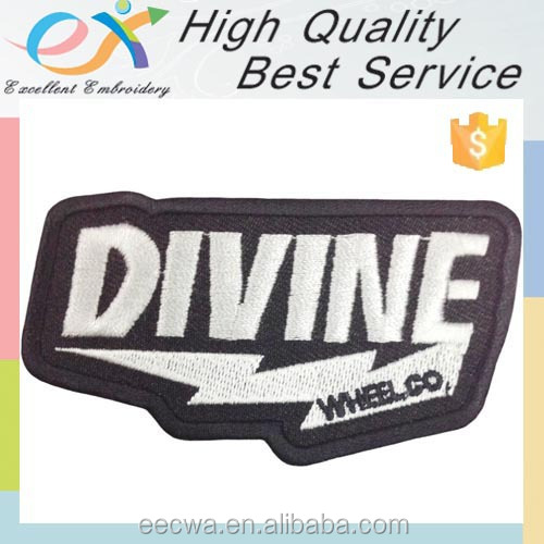 Trade Assurance custom embroidered letters iron ons
