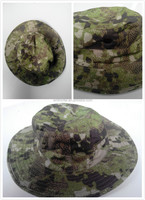 Wholesale 65% Polyester 35%Cotton Quality Canada Camouflage Visor Fishing hat