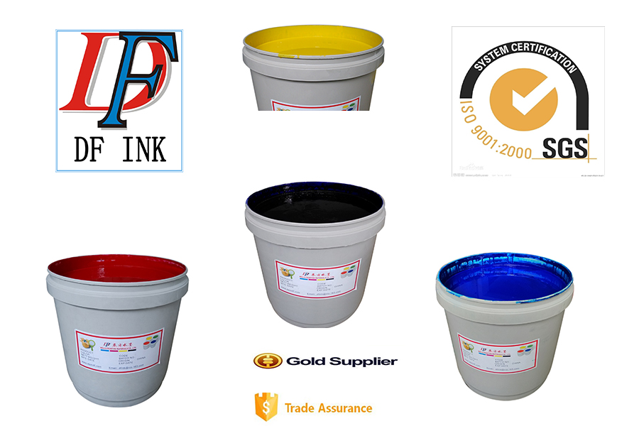 high grade high color strength high gloss water based gravure printing ink