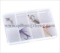cheap clear plastic fly box