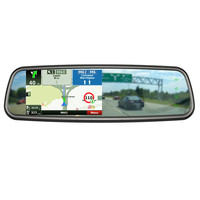 5.0 inch Android car rear view mirror GPS Navigation with camera and drivecam