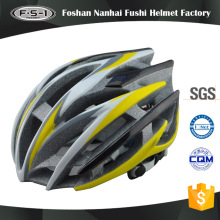 2017 latest design style yellow color vintage racing helmets bicycle