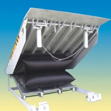high quality vehicle dock lift equipment air bag dock leveler