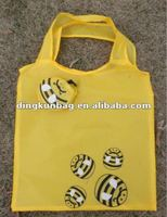 recycled printed promotional cute foldable shopping bag