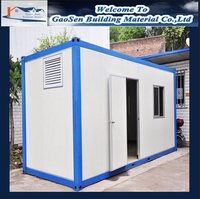 Low prices portable 20ft container homes for sale