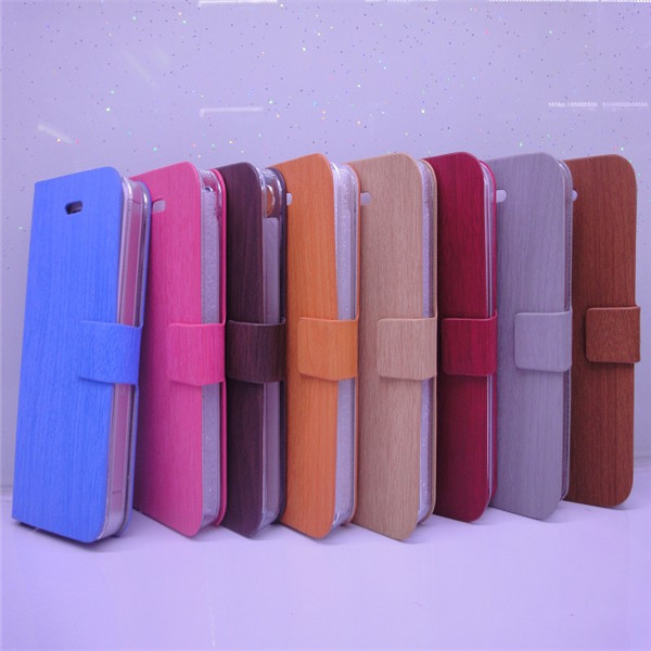 fashion bamboo texture leather case for samsung galaxy s9300