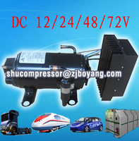 R134A DC Compressor for Self contained battery powered units sleeper cab airconditioning