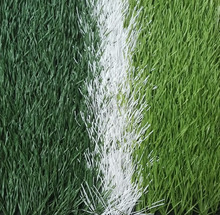 Three Color Environmental Friendly Football Soccer Landscape Sports Artificial Grass Turf