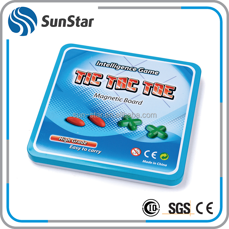 NBSS welcome OEM traveling game tic tac toe board