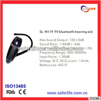 FDA approved TV Blue tooth hearing aid personal worn hearing aid and aid receiver
