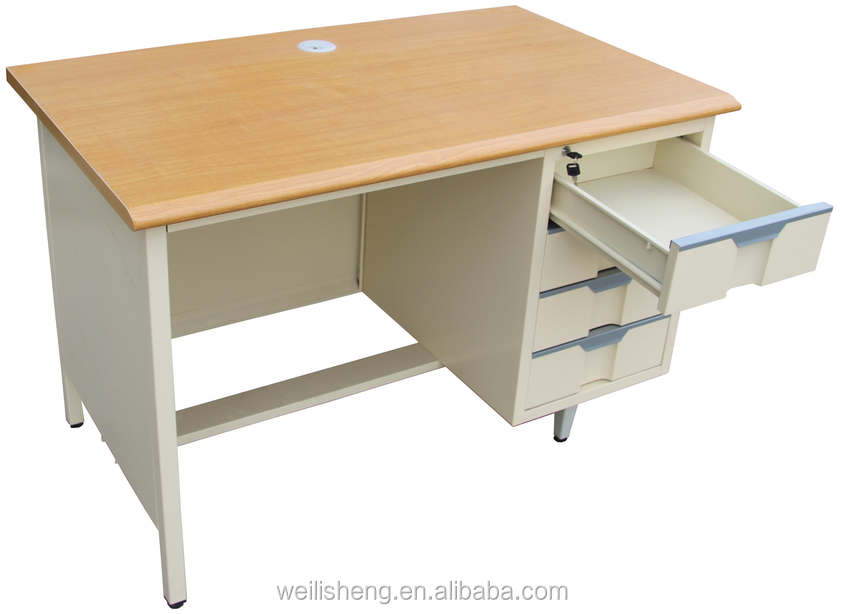 New Design High Quality Stainless Steel Front Office Desk