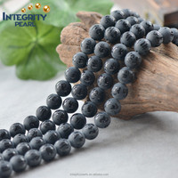 8mm 10mm 12mm 14mm 16mm natural matte religion black agate stone, natural stone pieces, black precious stones