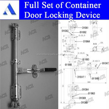 ISO 20ft GP HC container door locking device for sale