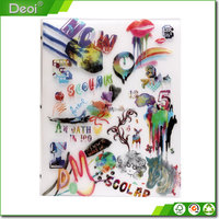 new products plastic 6 pocket folder picture