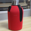 Neoprene 64oz beer bottle sleeve stainless steel water bottle carry bag beer growler bottle holder