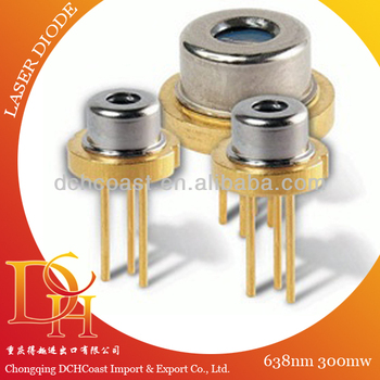 Red 638nm 300mw Laser Diode for scanner