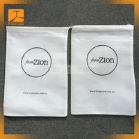 factory customized twill cotton dust bag drawstring