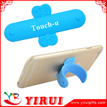 2016 cell phone one touch silicone stand