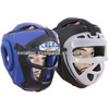 Leather Boxing Head Guard with Face Cage