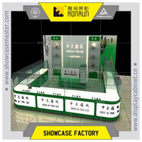 Modern mobile phone store furniture ,glass display showcase ,customized for mall kiosk