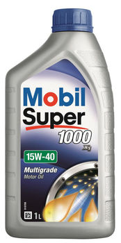 Mobil Super 1000 X1 15W-40, 1 Litre - Premium Mineral Engine Oil