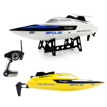 WLtoys 912 RC Boat Plastic High Speed Racing Boat Brushless Mode 2.4G 4CH Kids Electric Jet Boat Cheap for Sale