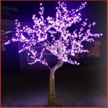 2.2M High quality outdoor decorative LED artificial cherry blossom tree