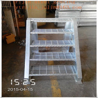 galvanized steel ladder/aluminum ladder/steel step ladder