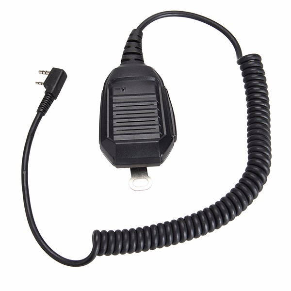 Good design straight cable handheld mobile car radio speaker microphone