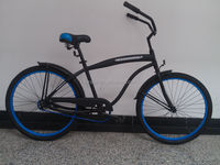 beach cruiser bike/adult beach cruiser bike/standard beach cruiser chopper bike