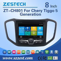 1 din touch screen car radio dvd gps navigation system for Chery Tiggo 5 2014 2015 2016 car dvd player gps with 3G BT