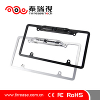 Car License Plate Frame Rear View Camera with 7 IR LED Night Vision