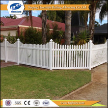 clear vinyl different types picket fences