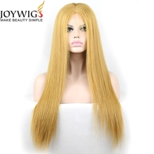 High quality blonde human hair lace front wigs for white women