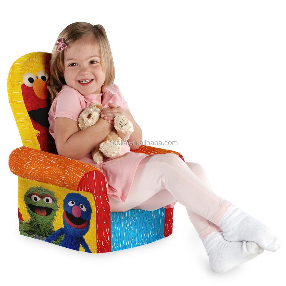 Children's Foam High Back Chair Kids Foam Sofa Chair