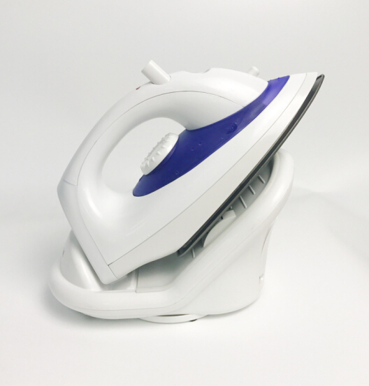 ningbo cordless electric steam dry iron with teflon soleplate