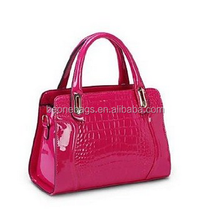 2015 Women's Fashion Trend of Western Style Crocodile Shoulder Handbag