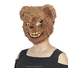 Animal Ball Masks Halloween Party Anime Cosplay Costume Plush Full Head Bear Mask