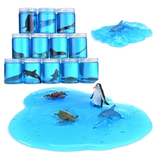 Marine Animal World Crystal Slime Transparent & Environmentally Friendly DIY Slime Children's Toy