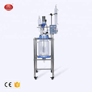 20L Industrial Plug Flow Glass Reactor