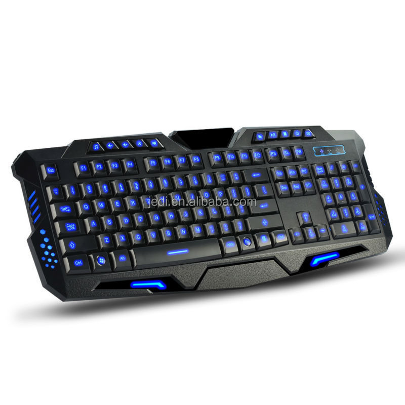 Best selling wired multimedia ergonomic keyboard gaming