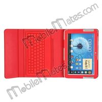 Bluetooth Keyboard for Samsung Galaxy Note 10.1 N8000 Wireless keyboard Leather Case