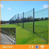 PVC Coated Folding Fence / Bending Fence For Road Fence
